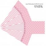 Caixa Pirâmide Kit Realeza Rosa