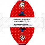 Caixa Vestido Mickey Marinheiro