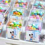 Caixa de Acrilico Festa Baby Disney do Heitor