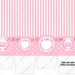 Caixa de Leite Kit Realeza Rosa