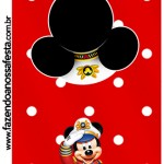 Capa Pirulito Mickey Marinheiro