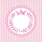 Cartão Kit Realeza Rosa