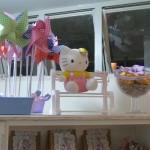 Cataventos Festa Hello Kitty da Duda
