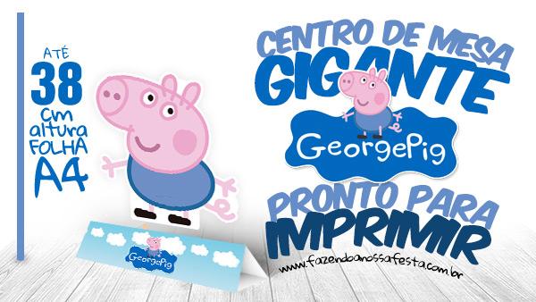 Centro de Mesa George Pig
