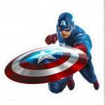 Centro de Mesa Vingadores Capitão América 3 1 -2