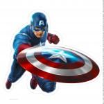 Centro de Mesa Vingadores Capitão América 3 2 -2
