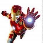 Centro de Mesa Vingadores Homem de Ferro 2-1-2