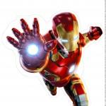 Centro de Mesa Vingadores Homem de Ferro 2-2-2
