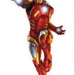 Centro de Mesa Vingadores Homem de Ferro 3-1-2
