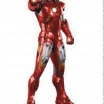Centro de Mesa Vingadores Homem de Ferro 4-1-2