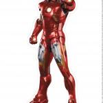 Centro de Mesa Vingadores Homem de Ferro 4-2-2