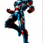 Centro de Mesa Vingadores Homem de Ferro 6-1-2