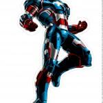 Centro de Mesa Vingadores Homem de Ferro 6-2-2