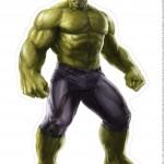 Centro de Mesa Vingadores Hulk 2-1-2