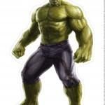 Centro de Mesa Vingadores Hulk 2-2-2