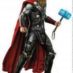Centro de Mesa Vingadores Thor 1-1-2
