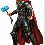 Centro de Mesa Vingadores Thor 1-2-2