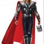 Centro de Mesa Vingadores Thor-2-2-2