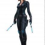 Centro de Mesa Vingadores Viúva Negra-1-2-2