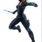 Centro de Mesa Vingadores Viúva-Negra 2-2-2