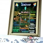 Chalkboard Festa Baby Disney do Heitor