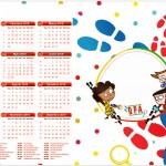 Convite Calendário 2016 DPA Detetives do Prédio Azul