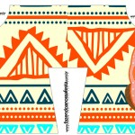 Convite Camisa Corujinha Laranja Indie