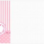 Convite, Cardápio ou Cronograma em Z Kit Realeza Rosa