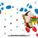 Convite Cupcake DPA Detetives do Prédio AzulConvite Cupcake DPA Detetives do Prédio Azul
