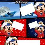 Convite Gibi Mickey Marinheiro