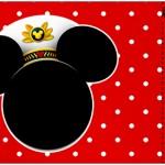 Convite Ingresso Mickey Marinheiro
