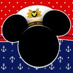 Convite Mickey Marinheiro