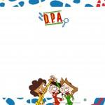 Convite festa DPA Detetives do Prédio Azul