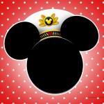 Convite para festa Mickey Marinheiro