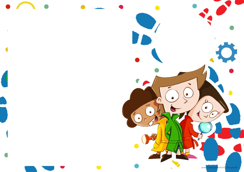 Convite para festa infantil DPA