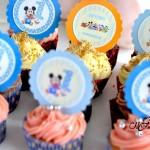 Cupcakes Festa Baby Disney do Heitor