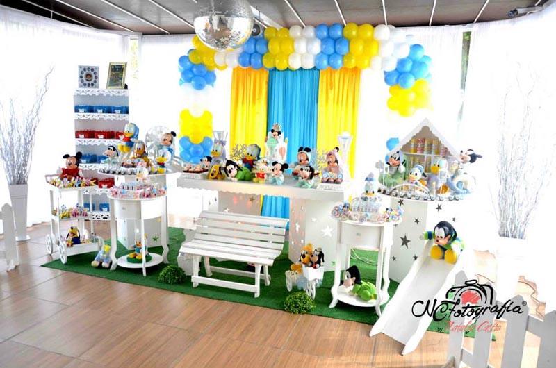 Decoração Festa Baby Disney do Heitor