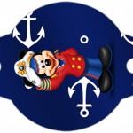 Enfeite Canudinho Mickey Marinheiro