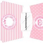 Envelope Fritas Kit Realeza Rosa