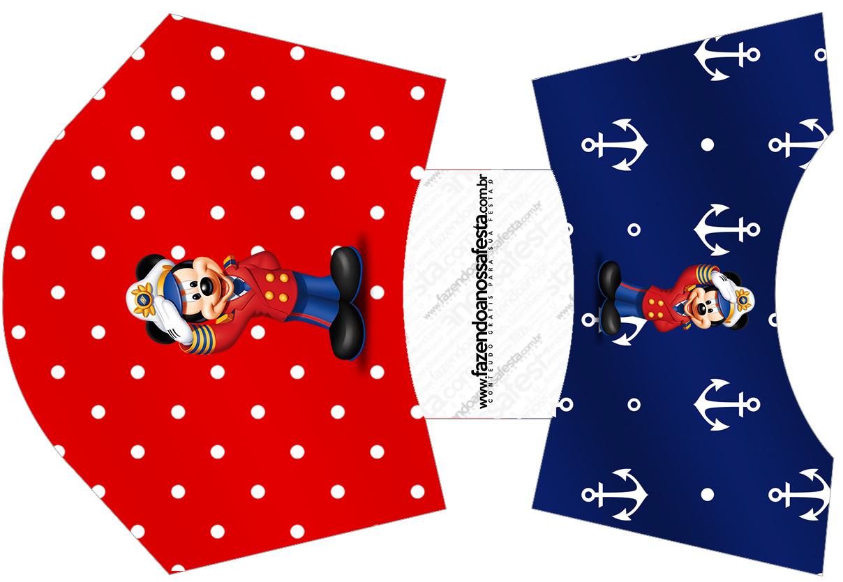 Envelope Fritas Mickey Marinheiro