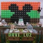 Festa Mickey Safari do Davi
