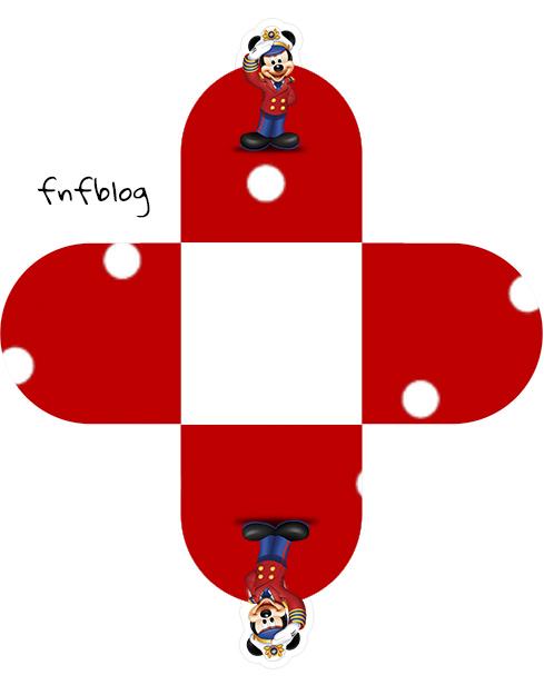 Forminhas Docinhos 3D Mickey Marinheiro