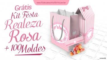Kit Realeza Rosa Modelo