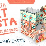 Kit festa Personalizado Corujinha Laranja Indie