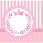 Lata de Leite Kit Realeza Rosa