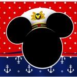 Marmita Mickey Marinheiro
