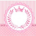 Marmita Pequena Kit Realeza Rosa