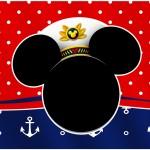Marmita grande Mickey Marinheiro
