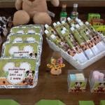 Marmitinha e Bisnaga Brigadeiro Festa Mickey Safari do Davi
