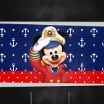 Mickey Marinheiro Convite Chalkboard
